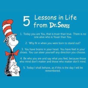 5 lessons-Dr Seuss