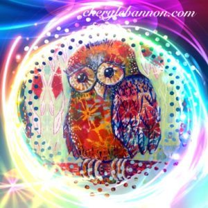 Owl guidance card: Hang On