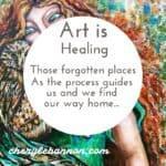 Art is healing