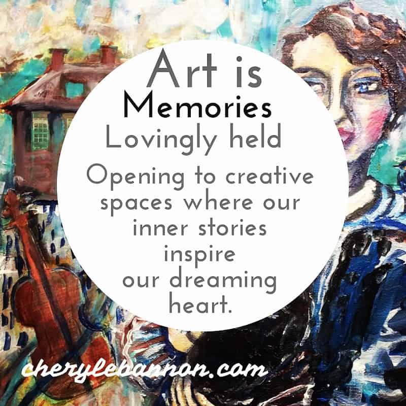 Art is memories