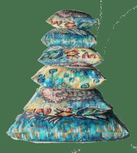 Cushion size stack