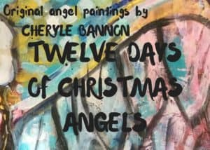 12 days of Christmas angels