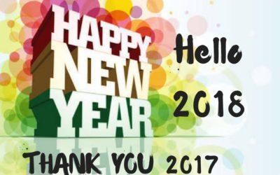 Celebrating 2017 – hello 2018