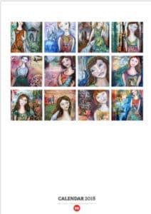 Girl calendar