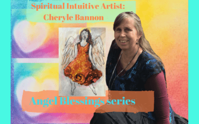 ANGEL REIKI PAINTINGS