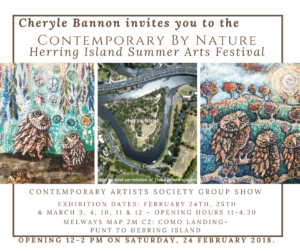 Herring Island 2018 invite