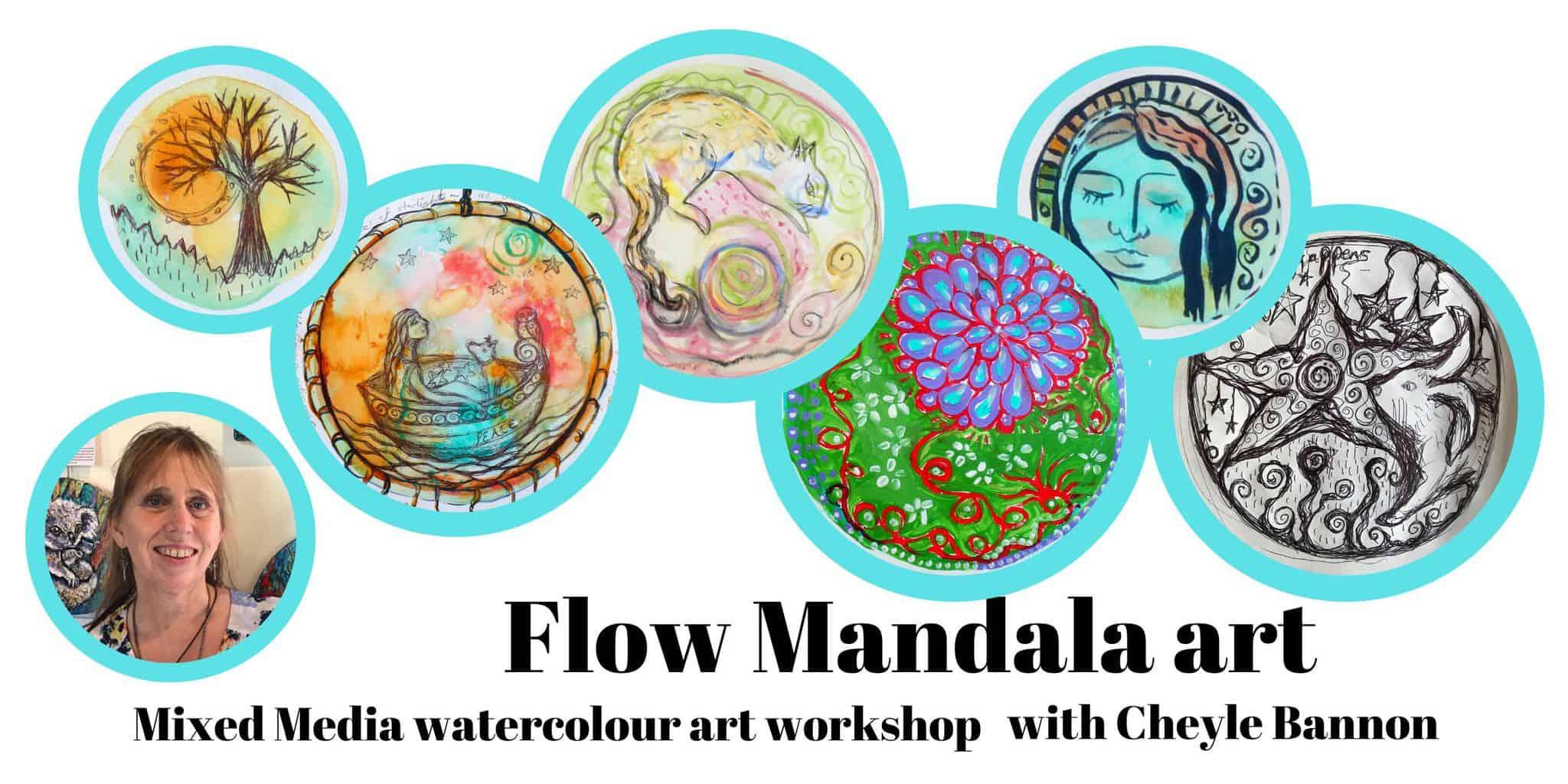 Flow mandala Header