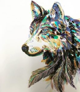 Wild feathers and fur