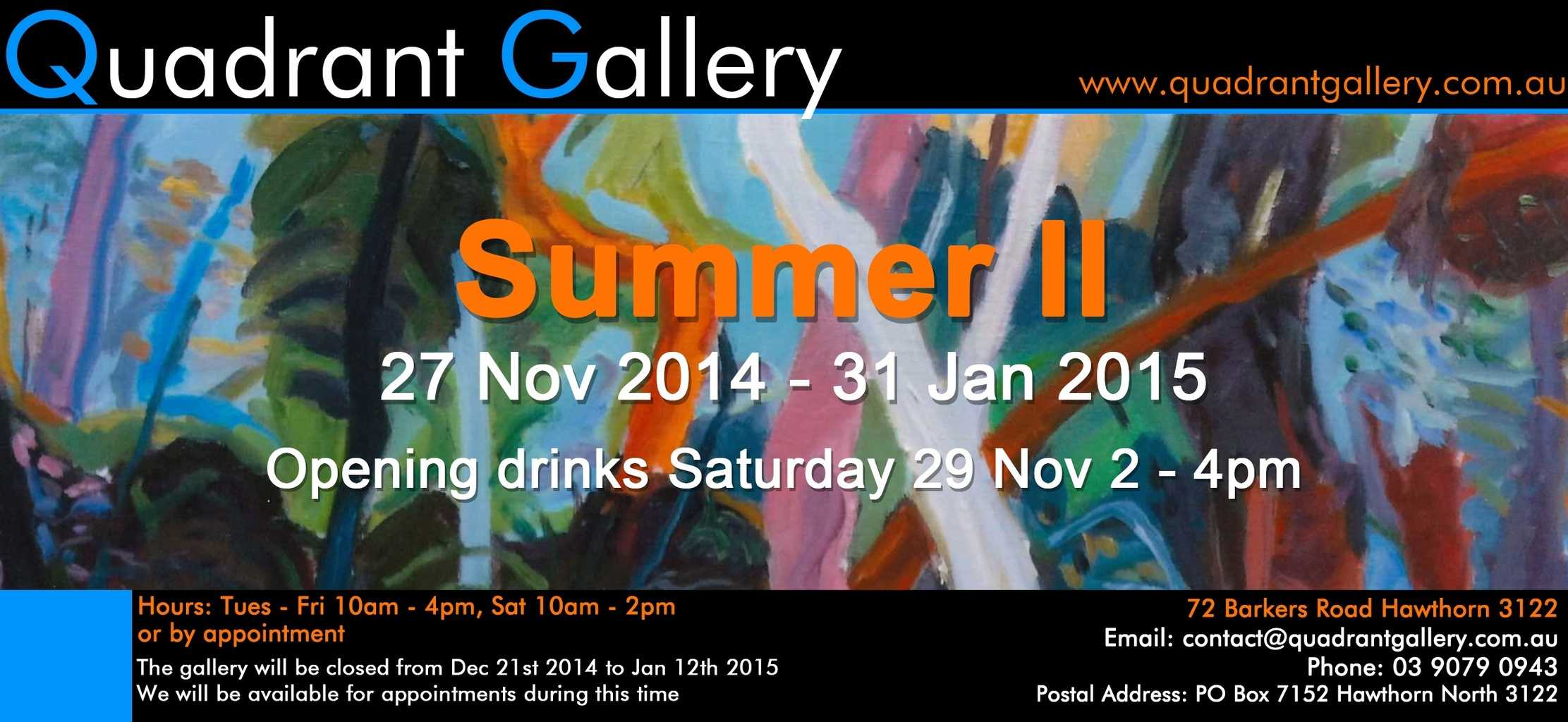 An opportunity to exhibit my knew work in another group show