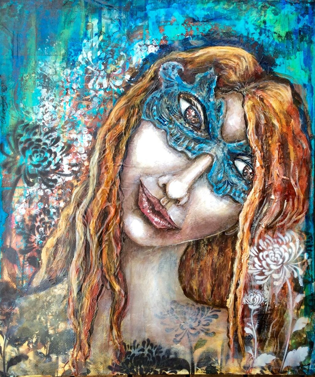 The mask by Cheryle Bannon©