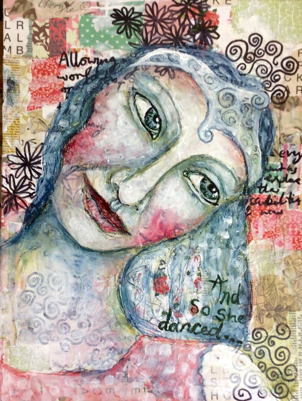 Mixed media play by Cheryle Bannon©