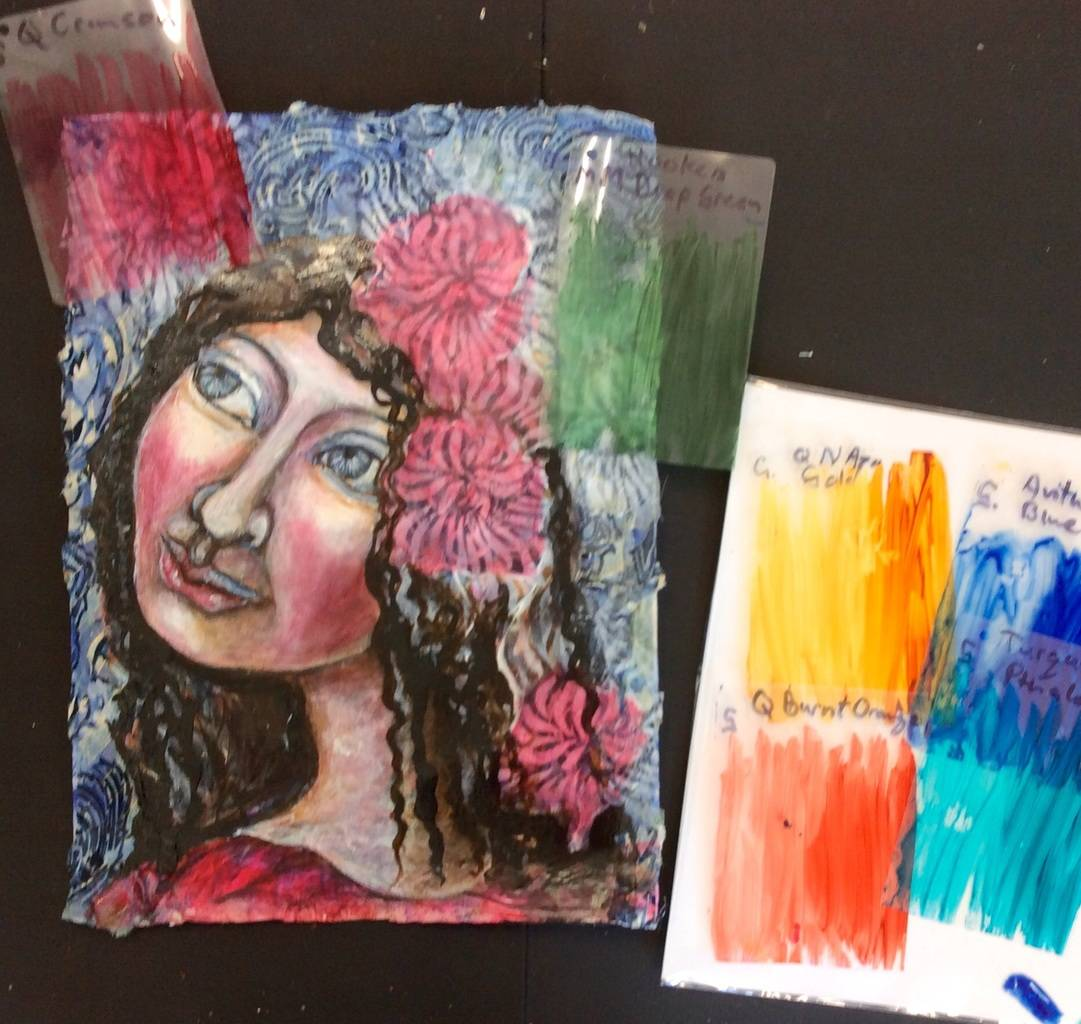 It is fun to try out new ideas and possibilities that build your artistic tool box.