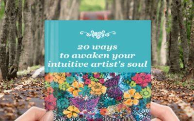 20 ways to awaken your intuitive artist's soul