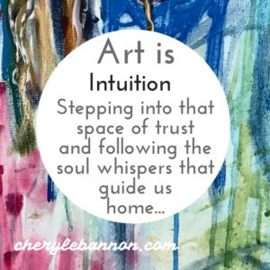 Art is intuirion