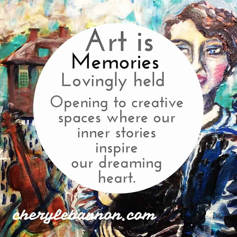 Art is memories