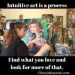 Intuitive artist Cheryle Bannon