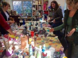 Intuitive art Workshop photo