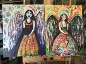 2 angels in process