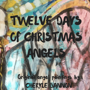 Twelve days of Christmas angels