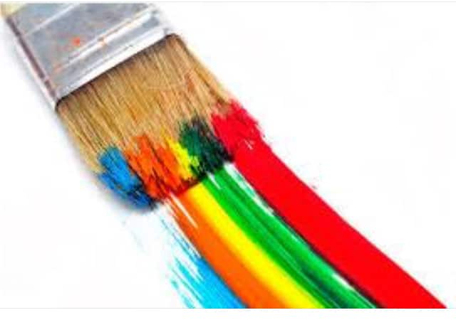 Rainbow Paint Brush