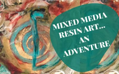 Mixed media resin art…what if?