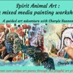 Spirit animal art