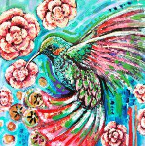 Hummingbird dreaming