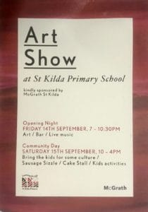St Kilda Primary school at show