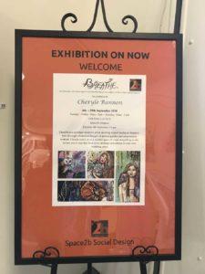 Breathe exhibition poster