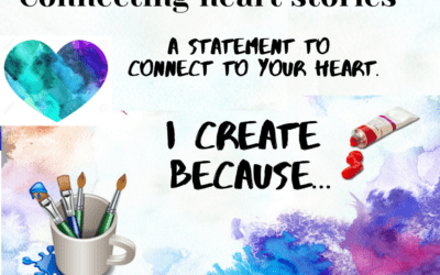 I create because  …a statement