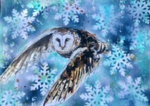 Magic of winters embrace