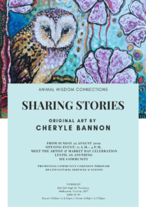 Sharing Stories solo show