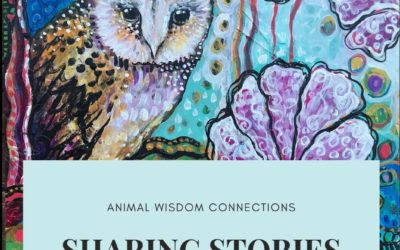 Sharing stories: animal guide art