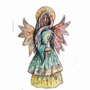 Light my Path angel blessing