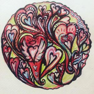 Heart Flow Mandala