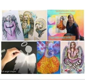 angel blessings panel