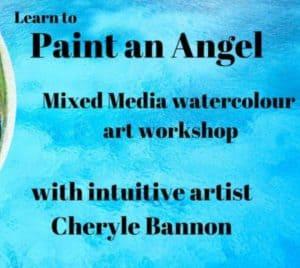 info paint an angel