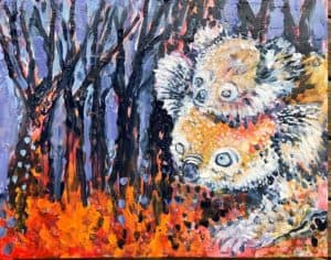 Scorched land