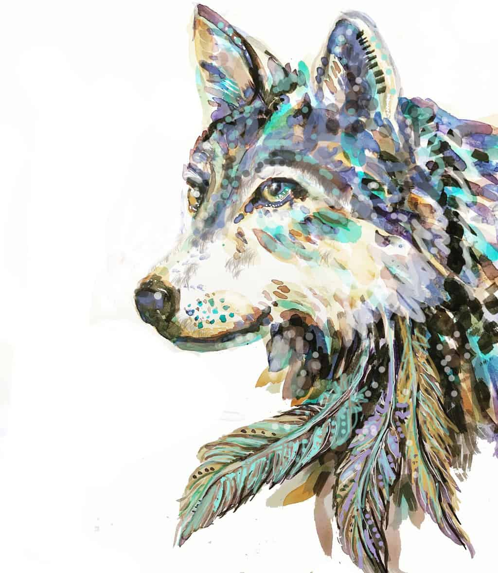 Wild Feathers and fur +