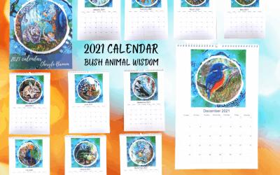 Australian Bush Animal Calendar 2021