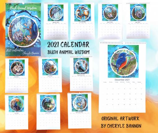 whole calendar 2021