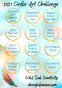 2021 art circle challenge