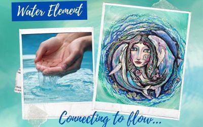 Water element art prompts